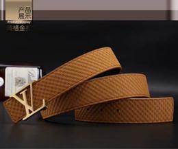 2019 cinturones xl para hebillas negro Cinturón de diseño 2018 Cinturones de moda para hombre y mujer Cinturones de cuero genuino de la marca Luxurys Cinturones de cintura Dorado Plata Hebilla negra rebajas cinturones xl para hebillas negro