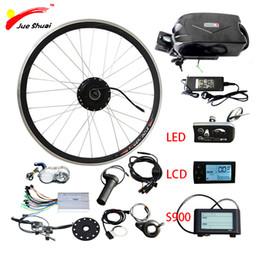 batteria elettrica della rana della bici Sconti Kit 36V 500W bici elettrica per MTB ebike moto Kit 20