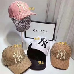 sombreros de camuflaje gris Rebajas Moda para hombres y mujeres de la marca de la letra cuatro estaciones bola sombrero exterior ocio deportes sombrilla sombrero mano de obra fina uso cómodo