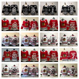 2019 Winter Classic Chicago Blackhawks 19 Jonathan Toews 88 Patrick Kane 2  Duncan Keith 7 Brent Seabrook 50 Corey Crawford Ice Hockey Jersey 2d5c68387