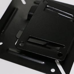 montaje en panel lcd tv Rebajas Etmakit 14 - 24 pulgadas Monitor de TV Pantalla plana 75/100 LCD LED TV Soporte de montaje en pared Soporte de panel plano Soporte de pie