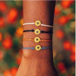 coda fata del braccialetto Sconti Gioielli Viola Infinity braccialetto Handmade colorato braccialetto ragazze di lusso a buon mercato della treccia Cord filo intrecciato Amicizia Bracciali