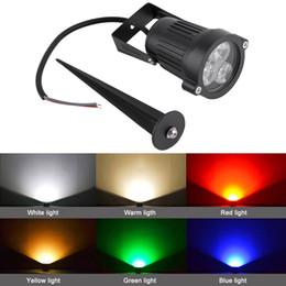 Ampoule de lampe de mur de projecteur en Ligne-12V LED Spike Ampoule Lampe Spotlight Jardin En Plein Air Chemin Paysage Libre De Monter Dans Votre Jardin Mur Pelouse Étang Place