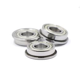 "FR2zz Metal Flanged Ball Bearing Bearings 1//8/"" x 3//8/"" x 5//32/"" 10pcs"