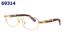 Occhiali occhiali online-Occhiali da vista Occhiali da vista Occhiali da vista Marca 24 COLORI Occhiali tinta unita con astuccio rosso
