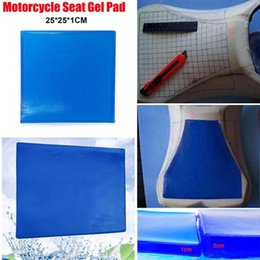 motorcycle seat cushions Promo Codes - Cushion Motorcycle Seat Gel Pad Absorption Mat Reduce Fatigue Soft Cooling Cushion Motor Bike Seat Pads Comformation