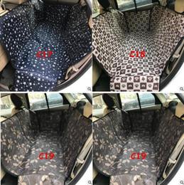 2019 coperture per cane Pet Dog Car Seat Copertine Panchina posteriore impermeabile Car Car Interior Accessori da viaggio Car Seat Covers Mat Pet Carries di alta qualità coperture per cane economici
