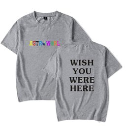 e8d23b3ad959 Letters Printing Cotton T-Shirts Travis Scott Astroworld GOV BALL NYC -shirt  Mens And Womens Tops Tee 03