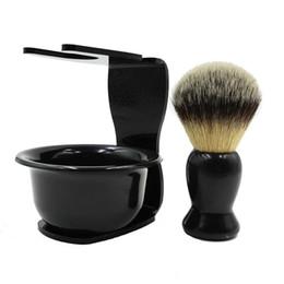 Canada Le support de brosse de rasage a placé des supports anti-rouille de support de brosse de barbe anti-rouille pour le salon à la maison de voyage utilisent l'homme rasant la brosse de savon R0163 Offre