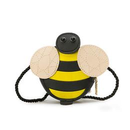 tier überqueren kinder Rabatt Baby Mädchen Quaste Geldbörse Handtasche Kinder Kinder kreuzkörper Umhängetasche Geschenke Cartoon Tiere Tasche Schnecke Biene Messenger Bags