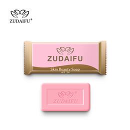 2019 sapone fatto a mano per freckles Zudaifu Zolfo Sapone Trial Pack Pelle Trattamento antibatterico Acne Psoriasi Seborrhea Eczema Anti Fungo Bagno Sapone di bellezza