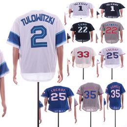 camisola de basebol de flanela Desconto 2 Tulowitzki 1 José Iglesias 22 Robinson Cano 22 Jason Heyward 33 Nick Swisher 25 Jonathan Lucroy 35 Homens de Cole Hamels Camisa de Beisebol