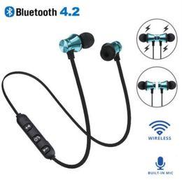 Aimant de basse en Ligne-XT11 aimant Sport Bluetooth Casque BT4.2 sans fil écouteurs stéréo avec micro casque pour écouteurs basse smartphones iPhone avec OPP sac