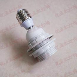 extensor e27 Rebajas Titular de la pantalla de lámpara E27 adaptador convertidor de fijación hembra E27 a E27 Adaptador Extender para Lámparas luces de techo, etc.