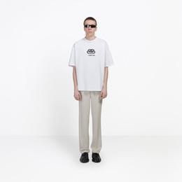 19ss Lüks Kilit Yeni Logo Baskı Erkek Tasarımcı T Shirt Moda Sıcak Kısa Kollu Kadın Çift Siyah Beyaz Sarı Yuvarlak Boyun Tee HFSSTX168 nereden yeni kilit çocuğu tedarikçiler