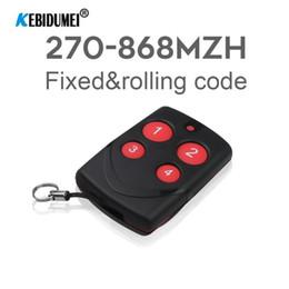 fob sem fio Desconto 315/433 / 433,92 / 868MHz Multi-frequência RF Clonagem controle remoto sem fio fixo rolling code duplicadora para carro Garagem Portão