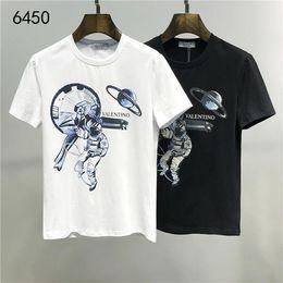 2019 puro camicia da stampa floreale 2020Designer Estate 19VltnValentino di nuovo arrivo superiore di lusso T delle donne degli uomini dei vestiti della stampa T-shirt M-3XL 6450