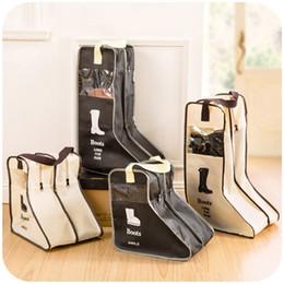 Canada Sacs de rangement pour chaussures portables avec sac de rangement pour cabines sac à chaussures Zak Boot Shoe Sacks 2 tailles cheap portable shoe storage bags Offre