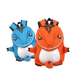 Симпатичные Динозавры Малыш Малыша Рюкзак Детский Сад Школьный 3D Мультфильм Динозавров Животных Сумка Модные Игрушки для Детей от