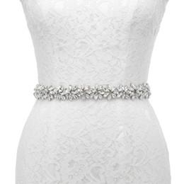 JLZXSY El Yapımı Çiçek Tasarım Kristal Rhinestone Düğün Kemer Gelin Gelinlik Kanat Abiye Kemer Düğün Aksesuarları nereden