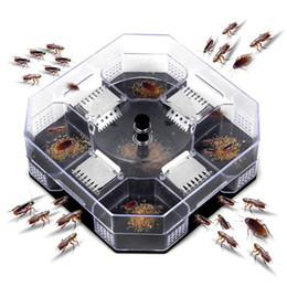 Não-Tóxico Barata Armadilha Roach Killer Catcher Captura Física Segurança Reutilizável para Crianças e Animais de Estimação Eco-Friendly Isca de Controle de