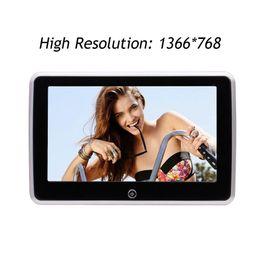 tv lcd car Скидка 10,1-дюймовый Android подголовник плеер LCD сенсорный экран Поддержка 1080P видео игры WIFI Quad Core заднего сиденья подголовник монитор Поддержка TV автомобиля