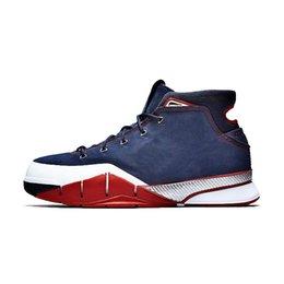 7e7e2c0e640517 La nuova scarpa da basket Blue Red Purple Yellow White Black Gold nuovi sneakers  alte da bambino