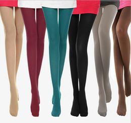 Collants pieds opaques nouvelle sexy filles femmes collants solide bas standard élastiques 8 couleurs ? partir de fabricateur