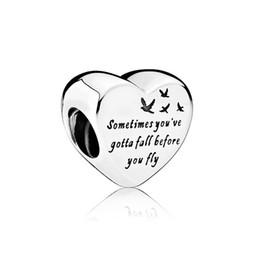 Freiheitszauber online-NEU 100% 925 Sterling Silber 1: 1 Authentic 791967 Heart Of Freedom Bettelarmband Original Damen Schmuck