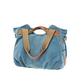 Direktverkaufstote online-2018 heißer Verkauf Direktverkauf Brief Kvky Marke Leinwand Frauen Handtasche Umhängetasche Weibliche Handtaschen Vintage frauen Tote K-825