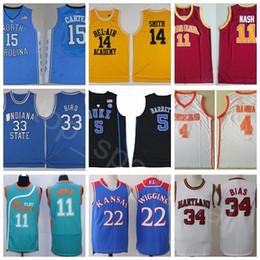 8d917d798c2 China Man Basketball Jersey College Movie Vince Will Smith Steve Carter  Nash Larry Barrett Bird Bamba