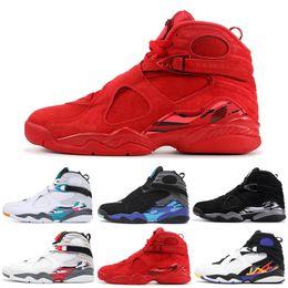 a1b8d0086bc Discount aqua 8s - 8 8s Men Basketball Shoes Aqua Chrome Countdown Pack  Valentines day 3PEAT
