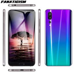 Fanaticismo Smart Phone P20 da 6.1 pollici MTK6580 quad core 1GB di RAM 8GB ROM cellulare Android 8.1 sbloccato il cellulare da carta mobile sim più mobile fornitori
