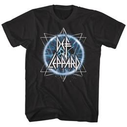 Def Leppard Electric Eye Atom Logo T-shirt Homme Rock Band Album Visite Musique Merch ? partir de fabricateur