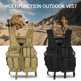 vêtements en tissu multifonction Promotion Équipement extérieur multifonctionnel portatif de molle de tissu de gilet 800D Oxford de chasse en plein air de chasse
