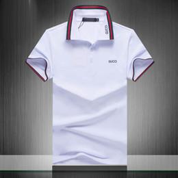 chemises sport de style militaire Promotion Marque Designer D'été Polo Shirt Broderie Mens Polo T Chemises Style De La Mode Chemise pour Hommes Femmes High Street Top Tee42