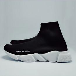 2019 дизайнерские носки мужские кроссовки женские модные туфли черный белый красный блестящий зеленый розовый Плоские мужские кроссовки Runner повседневная обувь размер T6-SC5EC supplier glitter sneakers for men от Поставщики блеск кроссовки для мужчин