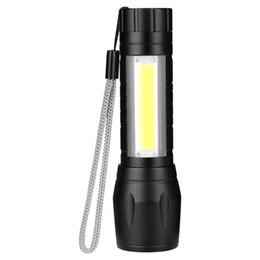 Bright mini flashlights онлайн-Яркий свет фонарик алюминиевого сплава телескопическая регулировка электрический Факел мини портативный Emergenc практические Главная фонари горячие продажа 9yhC1