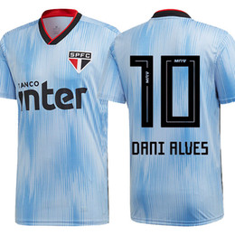 Футбольные майки онлайн-2019 2020 third SÃO PAULO camisa de futebol 3rd 19 20 Sao Paulo football shirt top thailand soccer jersey
