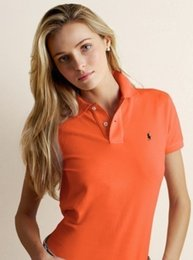 Camicia polo moda estate 2019 New Casual manica corta Slim Polos 219 # Camicie Top Plus Size Polo in cotone femminile da
