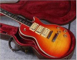 Gitarren ace online-Verkauf von Custom-Shop-Stil Ace Frehley Unterschrift Gitarre höchster Qualität Ace Frehley 3 Pickups E-Gitarre, Freies Verschiffen
