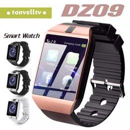 Smartwatch 2018 последний DZ09 Bluetooth смарт-часы поддержка SIM-карты для Apple Samsung IOS Android сотовый телефон 1,56 дюйма от