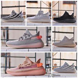 размеры замороженной обуви Скидка Adidas yeezy boost Мужская дизайнер женской обуви дизайнер кроссовки Женщины Semi Замороженные Сезам Kanye кроссовки Обувь женская Кроссовки мужские ботинки размер 11