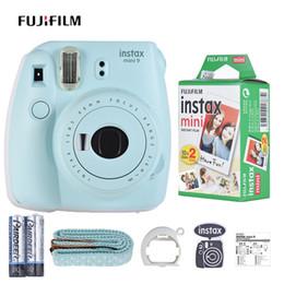 bateria do filme Desconto Câmera instantânea Instax Mini 9 com 20 folhas de papel filme com espelho Selfie 2 * Bateria para filme Instax Mini