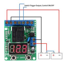 relè di controllo della tensione Sconti Modulo relè WiFi Cose Smart Home Interruttore di controllo remoto Scheda di test monitor per interruttore di rilevamento tensione batteria Misuratore di scarica