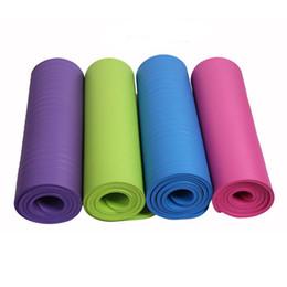 Yoga Paspaslar Ekstra Kalın kaymaz Egzersiz Spor Paspaslar En Kaliteli Çevre Dostu Açık Mat Katı NBR Uzatmak spor Paspaslar nereden