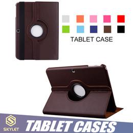 Para el nuevo estuche para iPad 9.7 pulgadas 10.5 pulgadas Funda protectora para tableta 360 Girar la funda con tapa para iPad air Samsung TAB 8 pulgadas 9.5 pulgadas T595 T110 desde fabricantes
