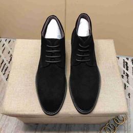Herren lederbekleidung online-Männer formelle Kleidung Leder Wildleder Luxus-Business-Schuhe Leder versuchen auf Schuhe Größe der Männer schwarz rot Hochzeit Schuhe der Männer
