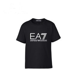 Vestiti carino 5t della ragazza online-2019 New Pattern Abbigliamento per bambini Estate Ragazzi T-shirt manica corta T-shirt in puro cotone per bambina