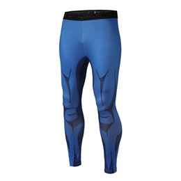 Pantaloni cosplay naruto online-Z Naruto Men Fitness Quick Dry Pants Cosplay Goku Nero Vegeta Akatsuki GYM Bodybuilding Leggings Skinny Pantaloni sportivi